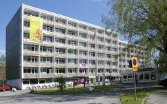Residencia de estudiantes Helsingkrona, Lund (1955-1957), junto con Sten Samuelson