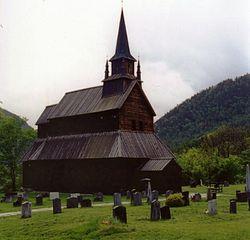 Iglesia de madera de Kaupanger