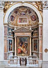 Capilla Ruiz, iglesia de Santa Catalina dei Funari, Roma (1565-1566)